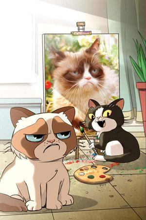 "GRUMPY CAT #1 RARE STEVE UY ""ART & PHOTO VIRGIN"" EDITION"