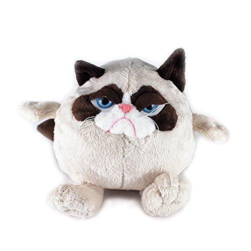 "Ganz Grumpy Cat Ball 7"" Plush"