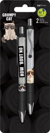 Grumpy Cat Gel Pen Set