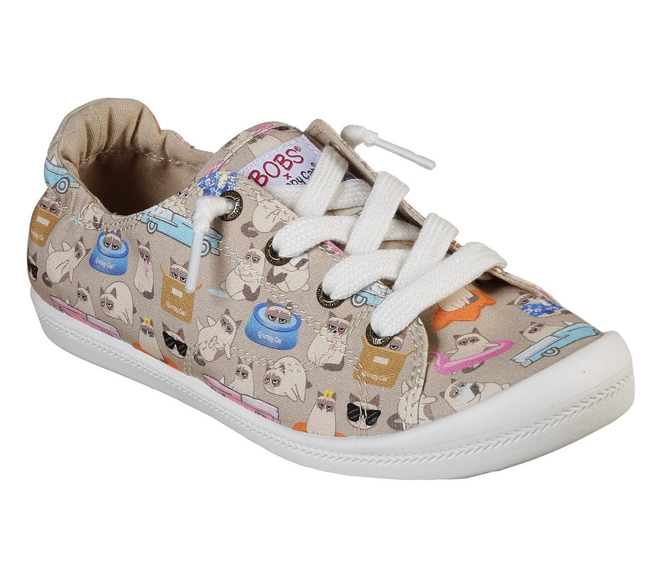 Skechers Grumpy Cat x BOBS Beach Bingo - Wet Blanket Shoes