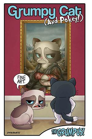 GRUMPY CAT & POKEY: GRUMPUS HARDCOVER