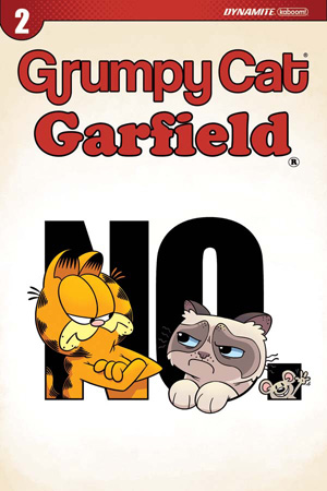 GRUMPY CAT/GARFIELD #2 (OF 3)