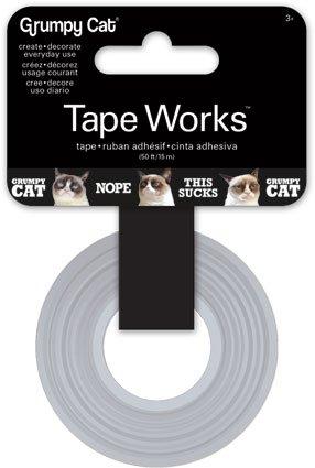 Grumpy Cat 50 foot roll of Scrap Booking Tape