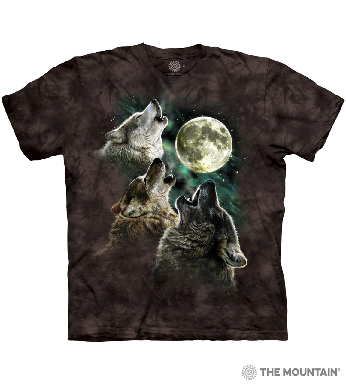 My Mountain Three Wolf Moon T-Shirt | The Mountain