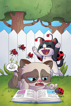 "GRUMPY CAT & POKEY #1 (OF 6) RARE AGNES GARBOWSKA ""VIRGIN ART"" EDITION"