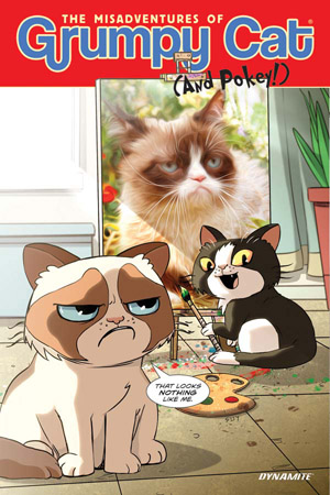GRUMPY CAT HARDCOVER