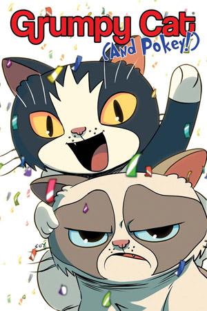 GRUMPY CAT & POKEY HARDCOVER
