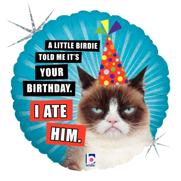 Grumpy Cat® Birthday (I Ate Him)