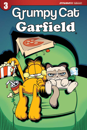 GRUMPY CAT/GARFIELD #3 (OF 3)