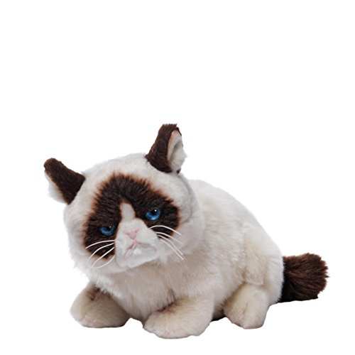 Gund 4048613 Grumpy Cat Lying Down Plush
