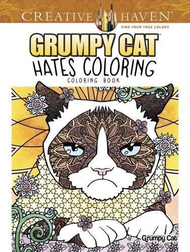 Creative Haven Grumpy Cat Hates Coloring Book Adult