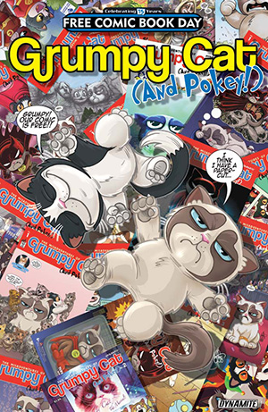 GRUMPY CAT FREE COMIC BOOK DAY 2016