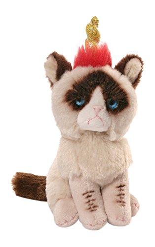Gund Grumpy Cat Unicorn Beanbag Stuffed Animal Plush