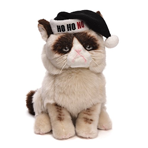 Gund Grumpy Cat Plush Christmas Stuffed Animal