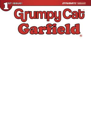 GRUMPY CAT/GARFIELD #1 (OF 3) BLANK AUTHENTIX EDITION