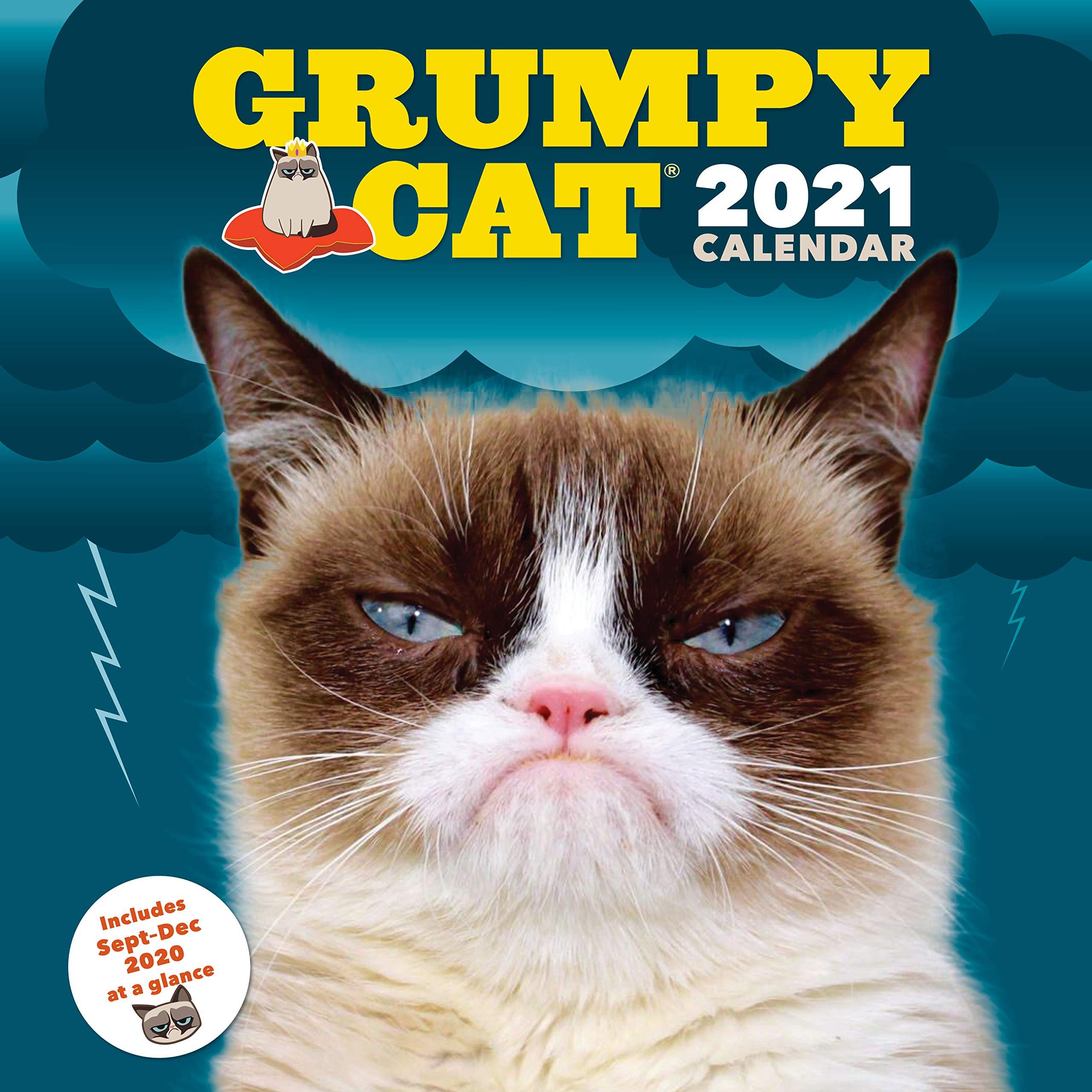 Grumpy Cat 2021 Wall Calendar